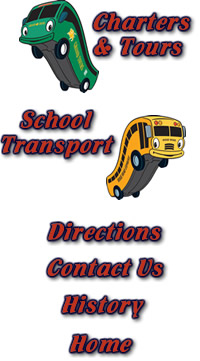 Motor Coaches and Charter Buses for Trips
